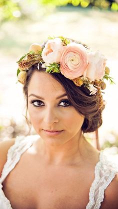 Wedding Hair Flowers www.wisteria-avenue.co.uk