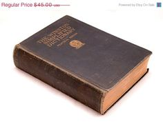 ON SALE Dictionary 1930s The Winston Simplified by SarahAnntiques, $36.00
