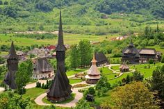 Barsana Monastery I would love to see more of Transylvania, Romania Beautiful Places To Visit, Wonderful Places, Places To Travel, Places To See, Visit Romania, The Beautiful Country, Travel Tours, Bucharest, Ultimate Travel