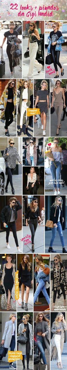Os 22 looks mais pinados da Gigi Hadid - Garotas Estúpidas - Garotas Estúpidas