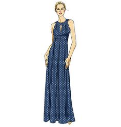 Vogue Pattern: V8574 Misses' Dress   Very Easy — jaycotts.co.uk - Sewing Supplies