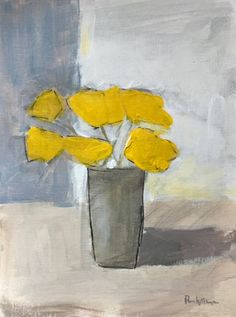 'Yellow Flowers' by Pamela Munger