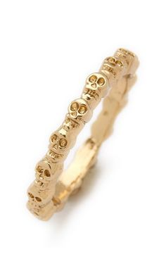 Eternity Skull Ring