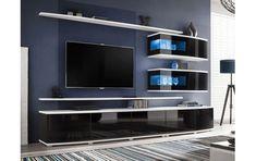 Szekrénysor PD258 Living Room Wall Units, Living Room Tv Unit Designs, Living Room Cabinets, Tv Cabinets, Entertainment Wall Units, Living Room Entertainment Center, Modern Tv Wall Units, Modern Wall, Modern Decor