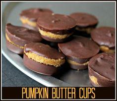 Pumpkin Butter Cups - Yummy!