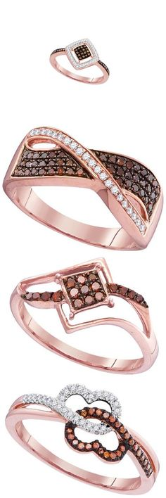 Rose Gold Jewelry - Bridal Rings