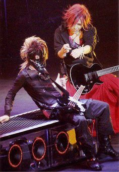 Reita and Aoi. The GazettE