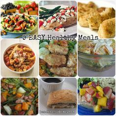 9 easy healthy meals: making at dads house