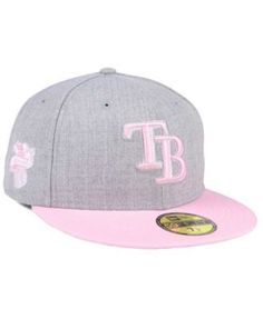 New Era Tampa Bay Rays Perfect Pastel 59FIFTY Cap - Gray 7 1 2 Tampa d6526aa687f6