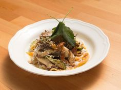 Get Butternut Squash Noodles with Mushroom Sauce Recipe from Food Network