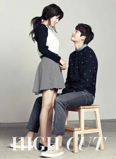 Nam Ji Hyun Gets Some Park Hyung Sik Oppa Affection in New Couples Pictorial