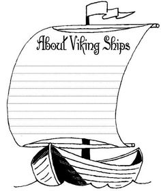 Unit Study, Lapbook, and Hands-on Activities Vikings Lapbook. Free lapbook, printables and unit study for homeschoolers. Barbarians as we use the term today had a very different meaning than to Greeks.Meaning Meaning may refer to: Viking Art, Viking Ship, Vikings Ks2, Vikings For Kids, Teaching History, History Education, History Class, Ship Craft, Norse Mythology