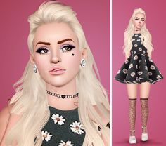 VVogueSims — similiciousims:   Yvonne for vvoguesims! You...