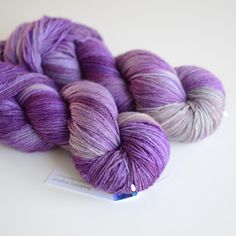 Hand Dyed Sock Yarn  Cashmere Merino Nylon Blend by ToilandTrouble, $30.00