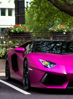#PinkLambo (not a fan of pink but it is still sexy!!!)
