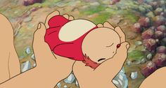 cute film anime Ponyo spirited away movie kpop totoro studio ghibli Howls Moving Castle ghibli films Ghibli Gifs Hayao Miyazaki, Studio Ghibli Art, Studio Ghibli Movies, Totoro Ghibli, Spirited Away Movie, Manga Anime, Anime Art, Ponyo Anime, Tamako Love Story