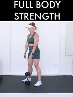 1 Hour Workout, Hiit Workout Videos, Full Body Dumbbell Workout, Full Body Workout Routine, Full Body Workout At Home, At Home Workouts, Full Body Workouts, Total Gym Workouts, Post Workout