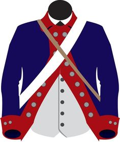 Lottery Coats - The Continental army at Valley Forge received 4,674 Brown Coats with Red Facings and 3,613 Blue Coats with red facings. All the troops wanted the blue coats, so to avoid conflicts, a lottery was held at Washington's Headquarters. The winners of the Blue Uniforms were the troops from the North Carolina, Maryland, New York, New Jersey. The brown uniforms went to the troops from Massachusetts, New Hampshire, Delaware and Virginia.