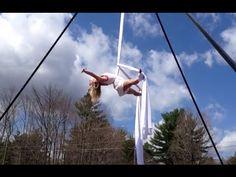 Aerial Silks Improv Routine - Kama Fitness
