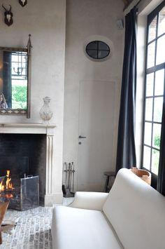Timeless and Refined Belgian Design, Enchanting Gardens and Bespoke Interiors in Belgium - Hello Lovely House Design Photos, Interior Design Photos, Interior Design Inspiration, Garden Inspiration, Belgian Pearls, Brick Flooring, Floors, Belgian Style, Tadelakt