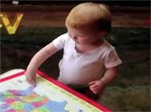 Smart Baby Does Something SO CUTE When She Gets an Answer Right - Cutie Pie!