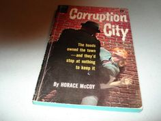 Vintage Paperback Book Corruption City By by pocketbooksandthings, $98.50
