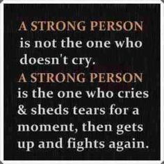 Don't fight...just learn life's lessons and move on!