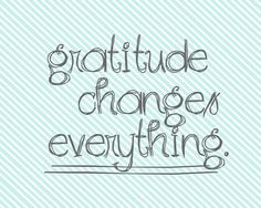 Gratitude Changes Everything @ItsOverflowingBlog