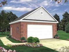 Detached Modern Car Garages Style   Car Garage Plans & Two-Car Garage Designs - The Garage Plan Shop