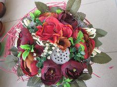 Dekorácie - kytička svadobná alebo gratulačná:-) - 6746047_
