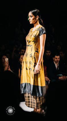 Amalraj Sengupta's collection at Amazon India Fashion Week Autumn/Winter 2015 #AIFWAW15 #EyesForFashion