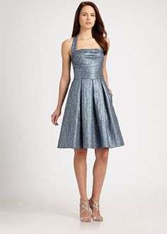 David Meister  Halter Dress  Maybe in a different color but cute