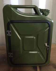 Upcycled Jerry Can Mini Bar, Picnic, Camping, Recycled, New Can, The Original