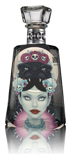 Tequilas customizadas no festival Essential Artists   Criatives   Blog Design, Inspirações, Tutoriais, Web Design