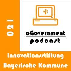 Heute sprechen wir über die Innovationsstiftung Bayerische Kommune. Und damit wir das auch richtig gut machen, haben wir uns einen Gast eingeladen. Open Data, Innovation, Monitor, Logos, Facebook, Professional Development, Tecnologia, Communication, Stupid