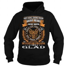 GLAD Last Name, Surname T Shirts, Hoodies, Sweatshirts. CHECK PRICE ==► https://www.sunfrog.com/Names/GLAD-Last-Name-Surname-TShirt-114188783-Black-Hoodie.html?41382