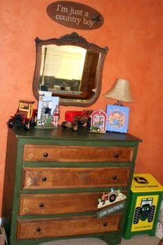 Greene Acres Hobby Farm: Western (Farm, Tractor, Cowboy, Barn Themed) Child Room