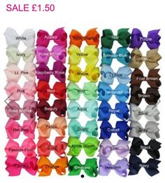 #DEALOFTHEDAY 🎀🎀🎀 Pick 'n' Mix our Small Bow Clips for just £1.50 all day. Perfect size for Pigtails 👧🏼 40+ colours in stock >>> www.dollymixboutique.com 🍭