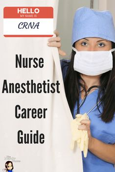Have you ever considering becoming a CRNA? If you're a nursing considering it you need to read the CRNA Nurse Anesthetist Career Guide Career Tips Nursing School Tips, Nursing Career, Nursing Tips, Nursing Schools, Nursing Programs, Rn Programs, Ob Nursing, Nursing Notes, Nursing Math