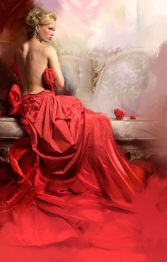 Jon Paul FERRARA is an American illustrator, of Italian origin – Moniq … - Fantasy Book Woman Painting, Figure Painting, Illustrator, Book Cover Art, Book Art, Fantasy Girl, Beautiful Paintings, Female Art, Lady In Red