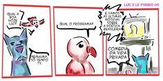 RABISCOS ENQUADRADOS: LUC E LE POMBÔ 04