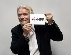Business mogul Sir Richard Branson joined NPR Host Renee Montagne on Morning Edition to share his unconventional success story – from dropping out of school to finding fortune with the Virgin Group empire – detailed in his new book Like A Virgin: Secrets They Won't Teach You at Business School.