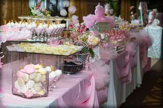 Home Confetti: Elegant Baby Girl Shower