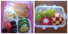 Back to school lunch box ideas.