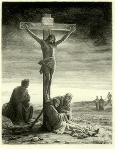 Crucifixion of Christ by Carl Heinrich Bloch