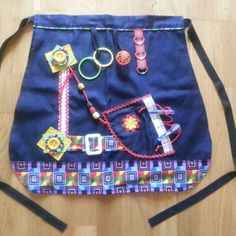 Hand made Half fiddle apron