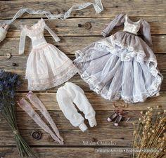 Комплект одежды для авторской куклы Анелии. Осминко Наталья / Изготовление авторских кукол своими руками, ООАК / Бэйбики. Куклы фото. Одежда для кукол