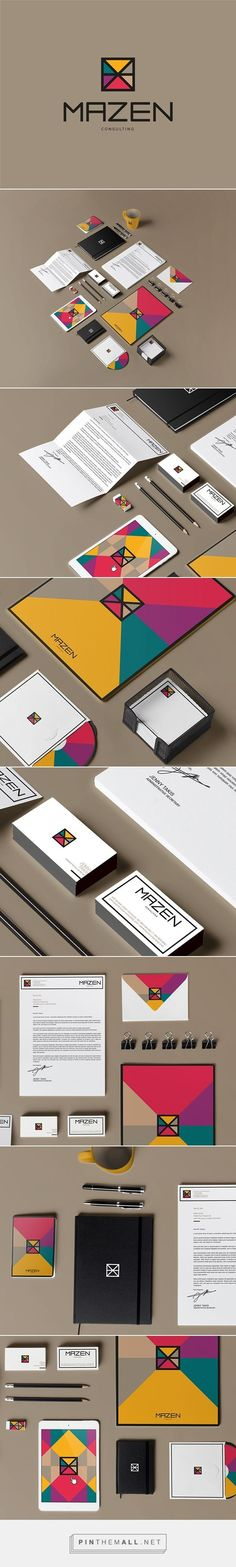 best awesome branding identity packaging design images mazen consulting behance fivestar and agency inspiration gallery Web Design, Design Logo, Design Poster, Brand Identity Design, Graphic Design Branding, Corporate Design, Typography Design, Packaging Design, Corporate Identity
