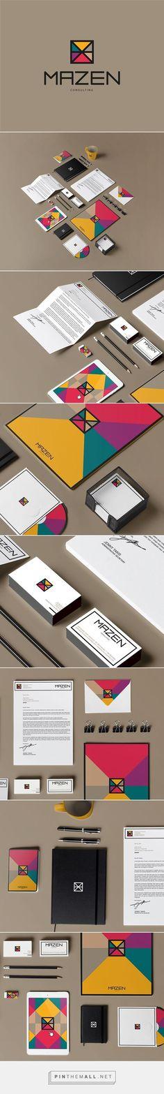 Mazen Consulting Branding on Behance | Fivestar Branding – Design and Branding Agency & Inspiration Gallery