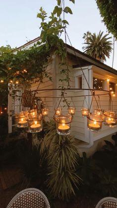 Small Backyard Patio, Backyard Landscaping, Backyard Ideas, Patio Ideas, Garden Cottage, Outdoor Living, Outdoor Decor, Patio Design, Balcony Ideas